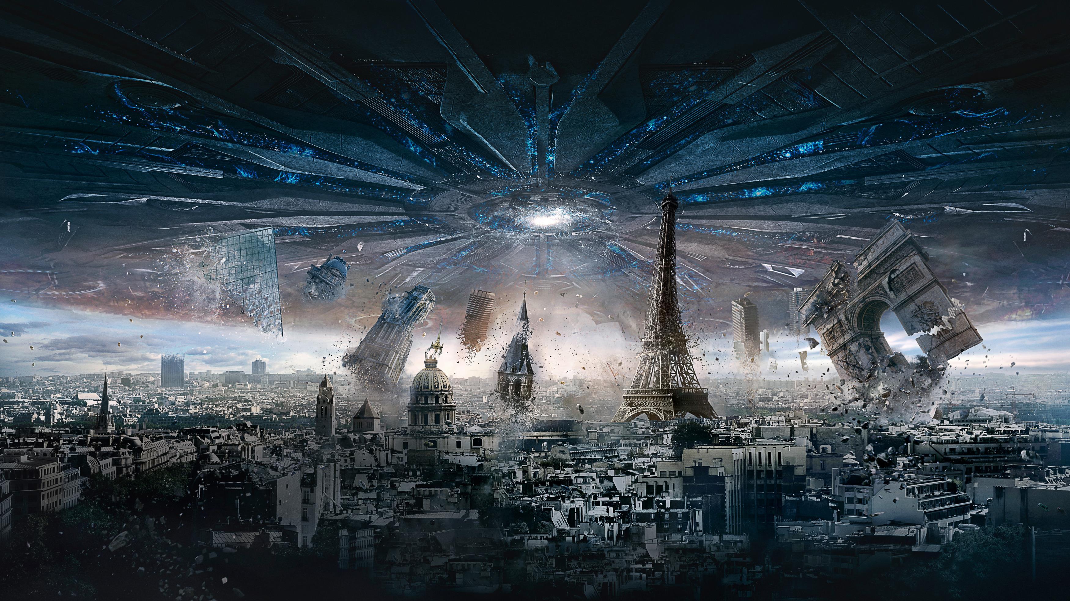 Париж День независимости возрождение обои скачать