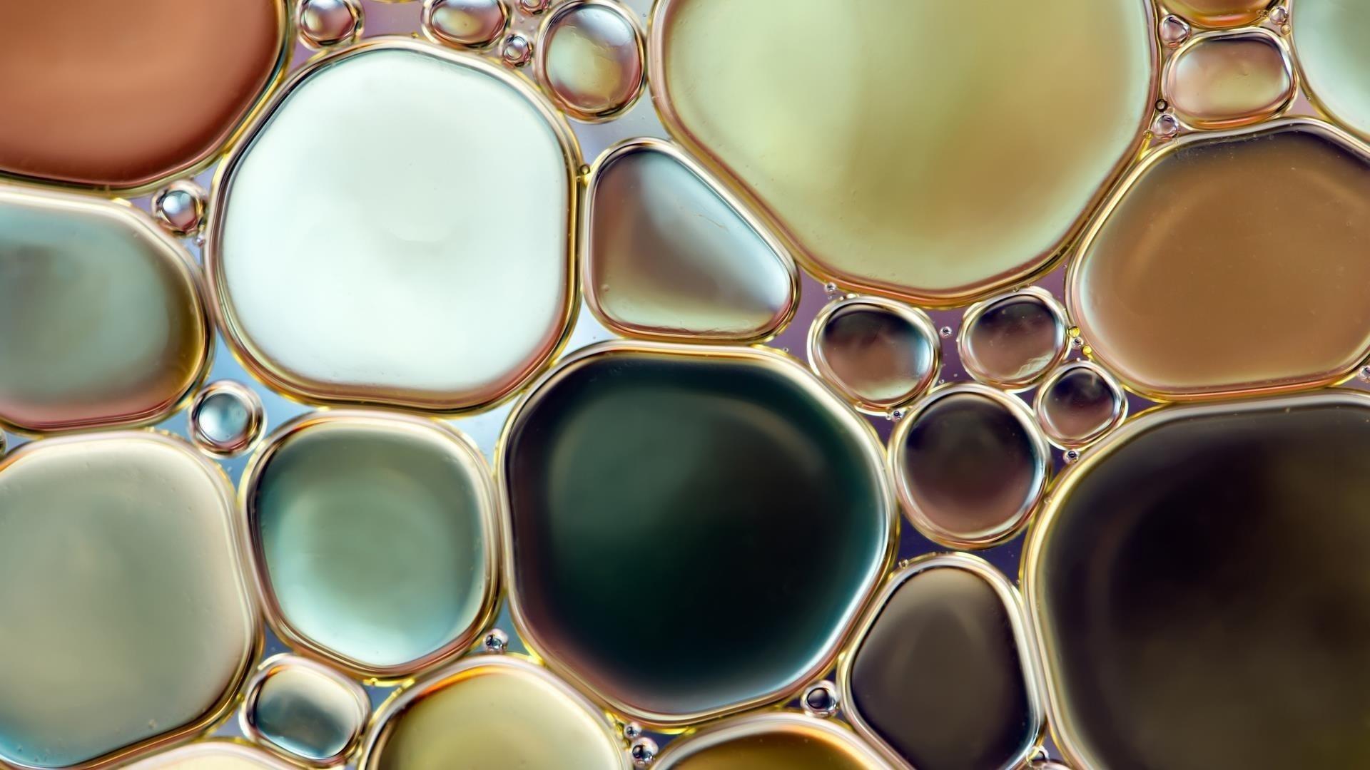 Круг водяного пузыря абстрактный обои скачать