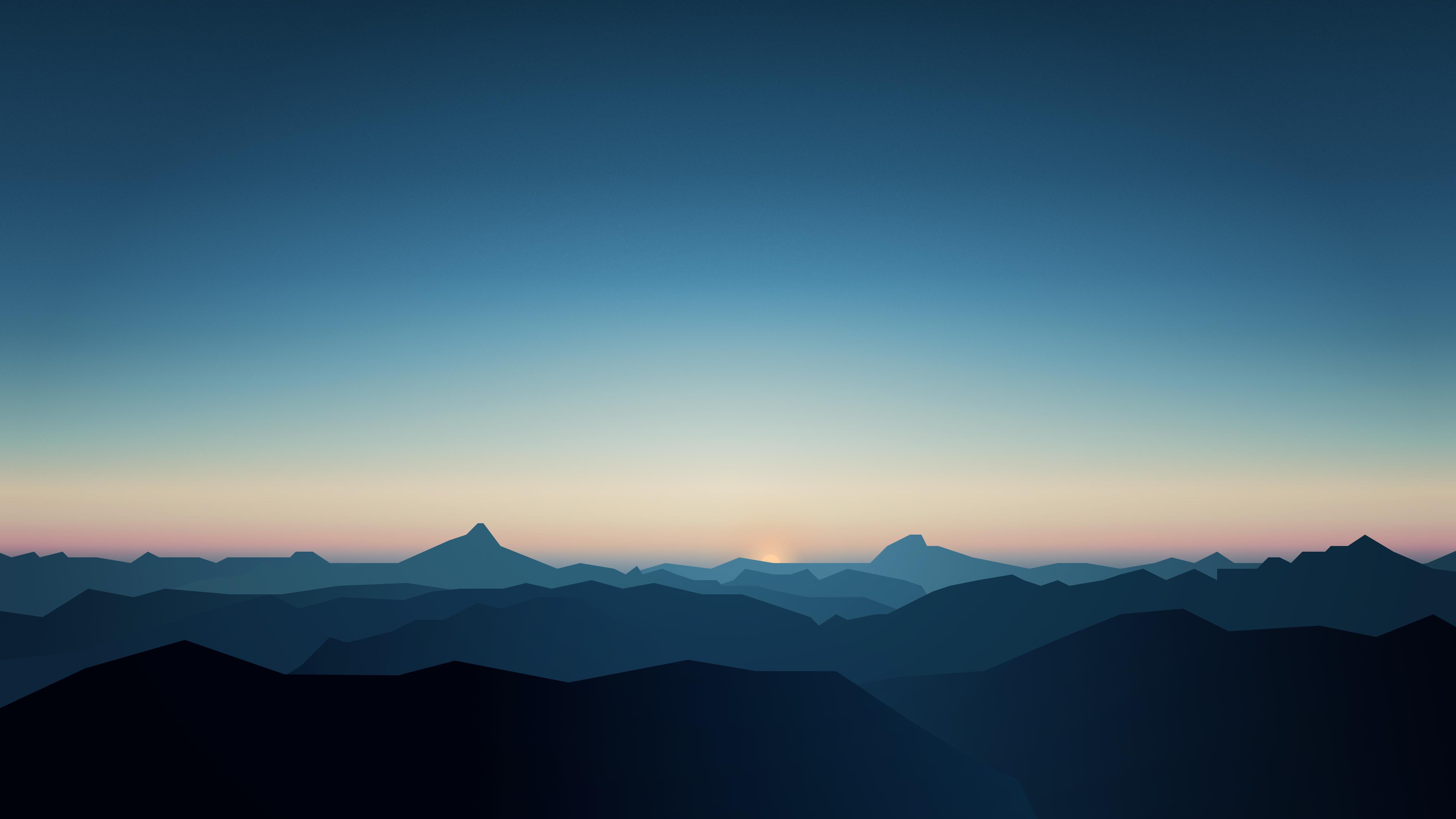 Крутые горы обои скачать
