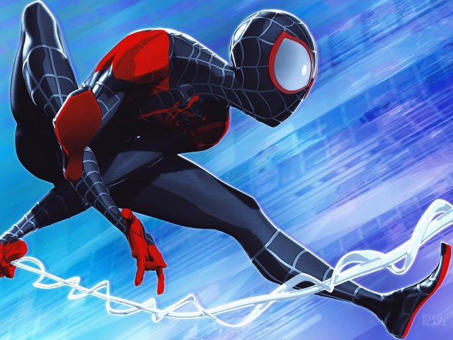 Человек-паук в паук-стих