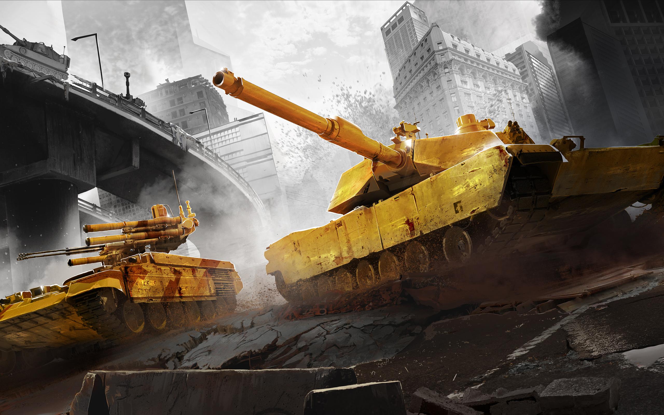 Танковые сражения, войны. обои скачать