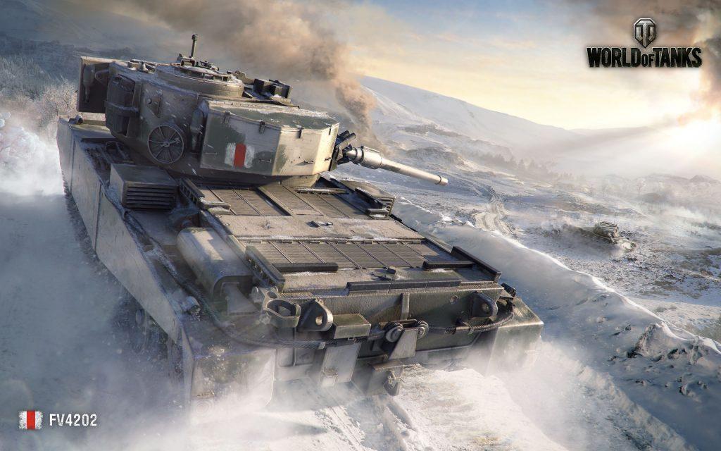 Fv4202 Мир танков. обои скачать