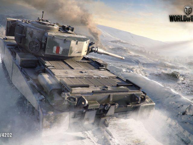 Fv4202 Мир танков.