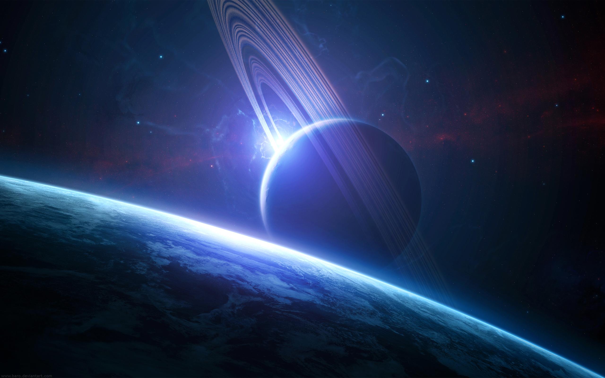 Кольцо Сатурна обои скачать