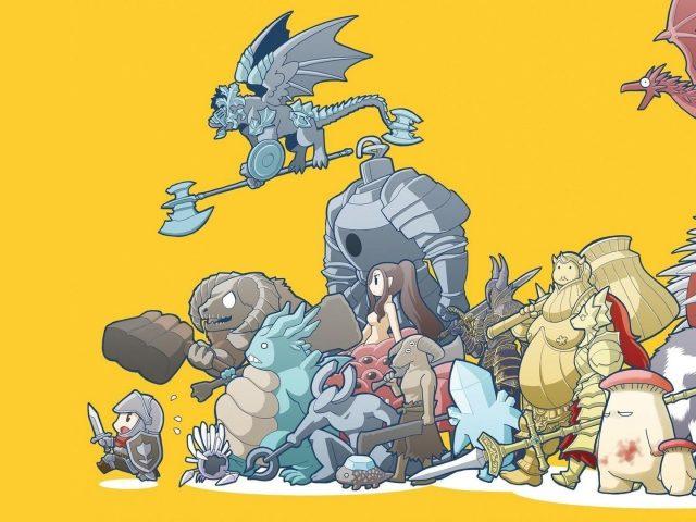Dark souls warriors аниме игры