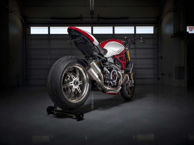 Ducati монстр 1200 триколор по мотивации 2019
