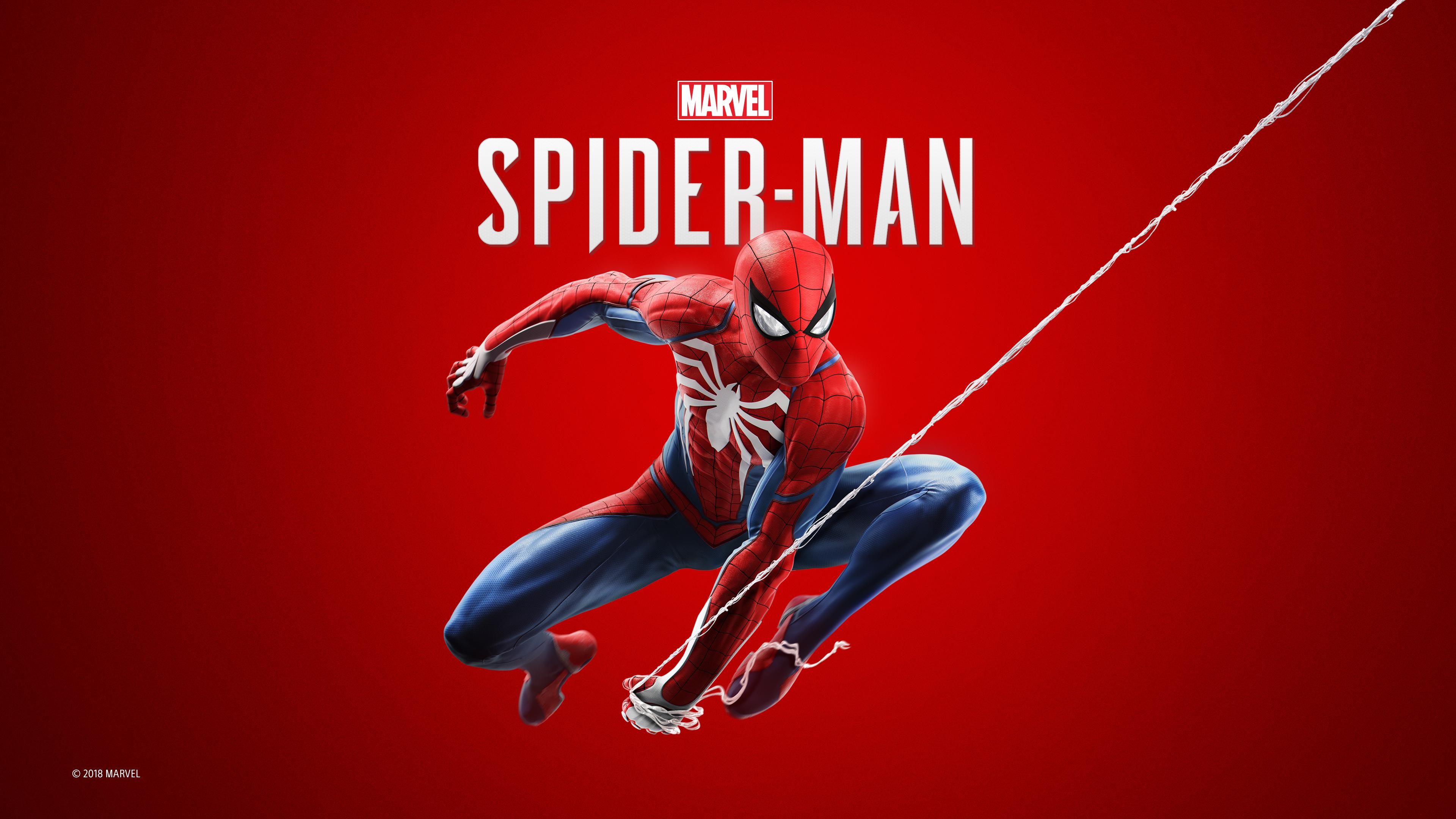 Человек-паук 2018 ps4 игры обои скачать