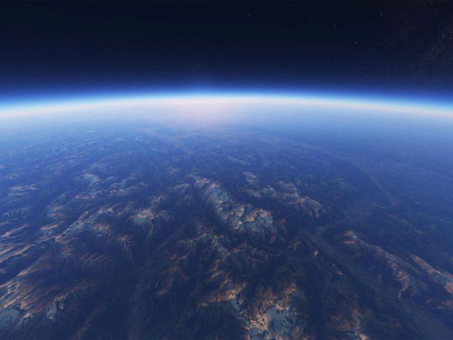 Земной горизонт