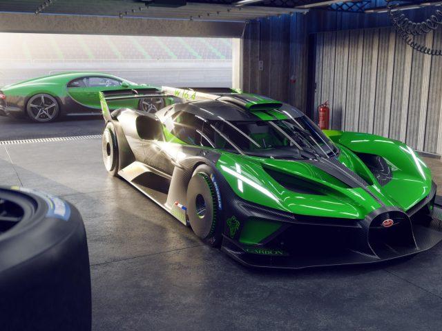 Bugatti bolide 2022 4 cars