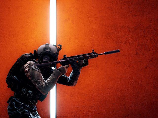 Battlefield 4 солдат