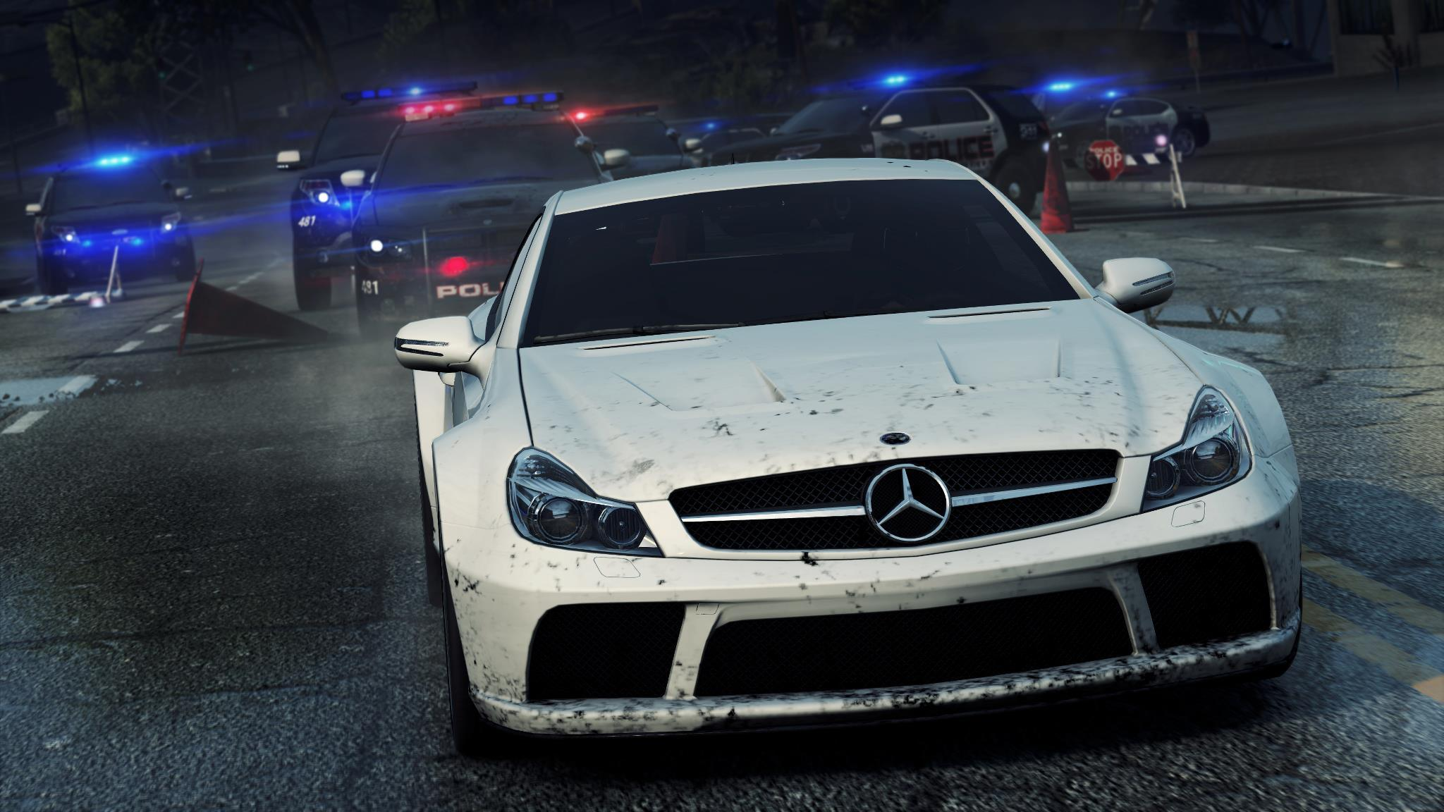 Need for Speed, Most Wanted 2012, Mercedes, Benz обои скачать