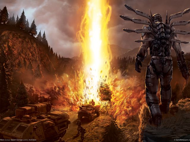 Взрыв,  Enemy Territory: Quake Wars
