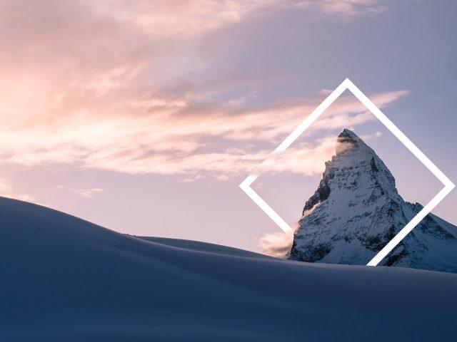 Снежная горная вершина