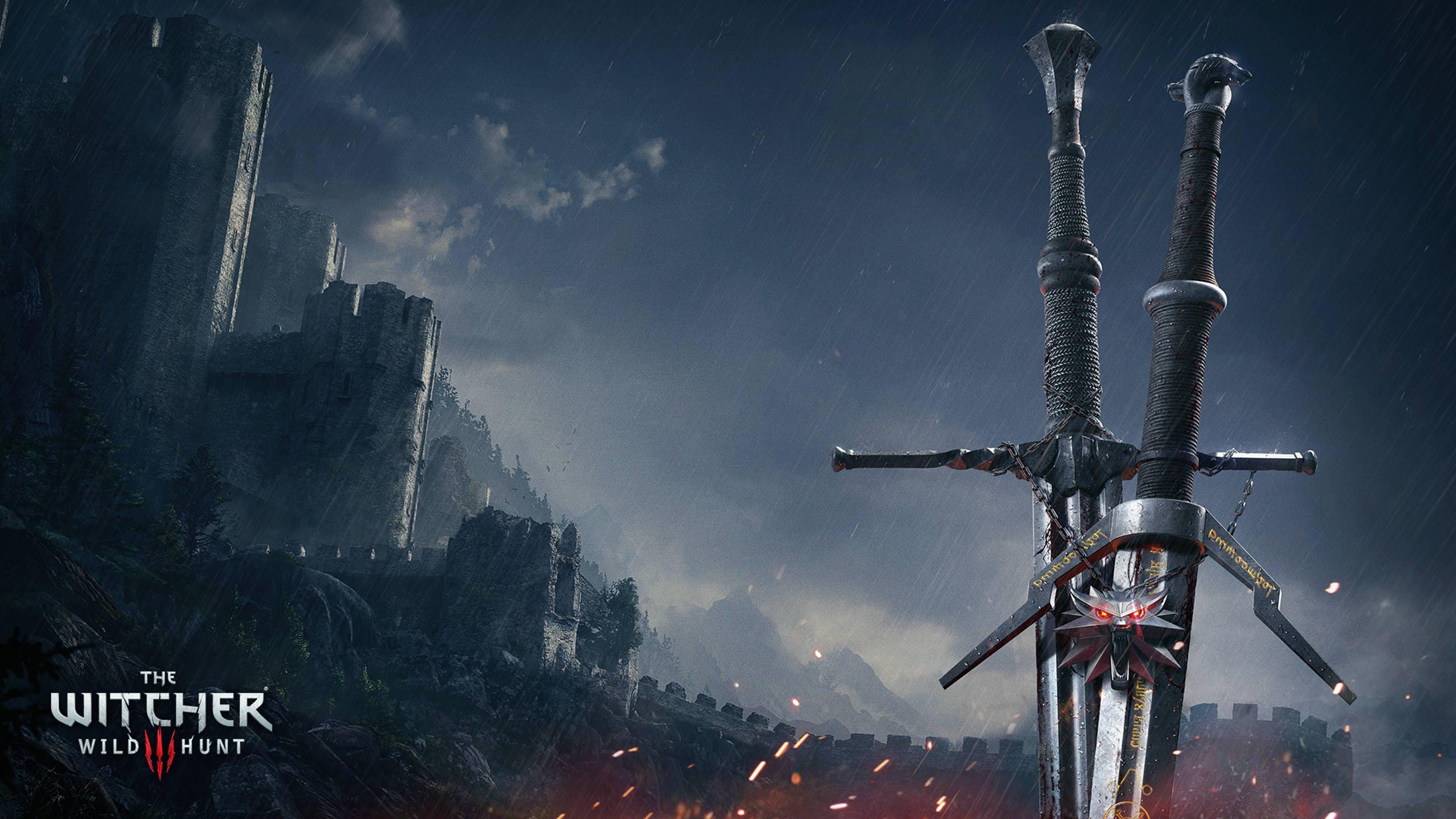 Ведьмак 3 дикая охота мечи. обои скачать