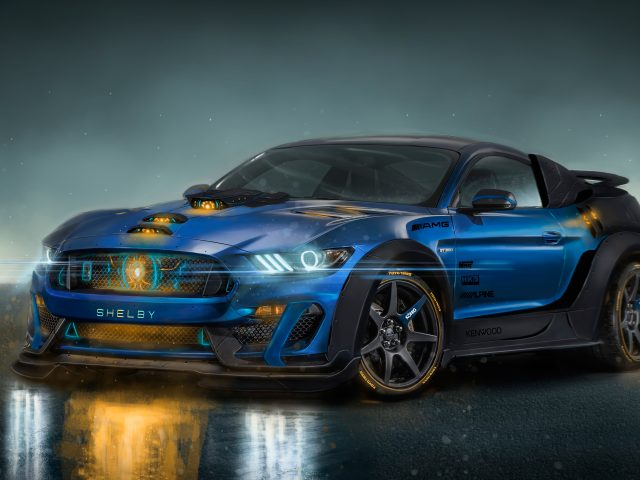 Shelby gt350r AMG fusion core
