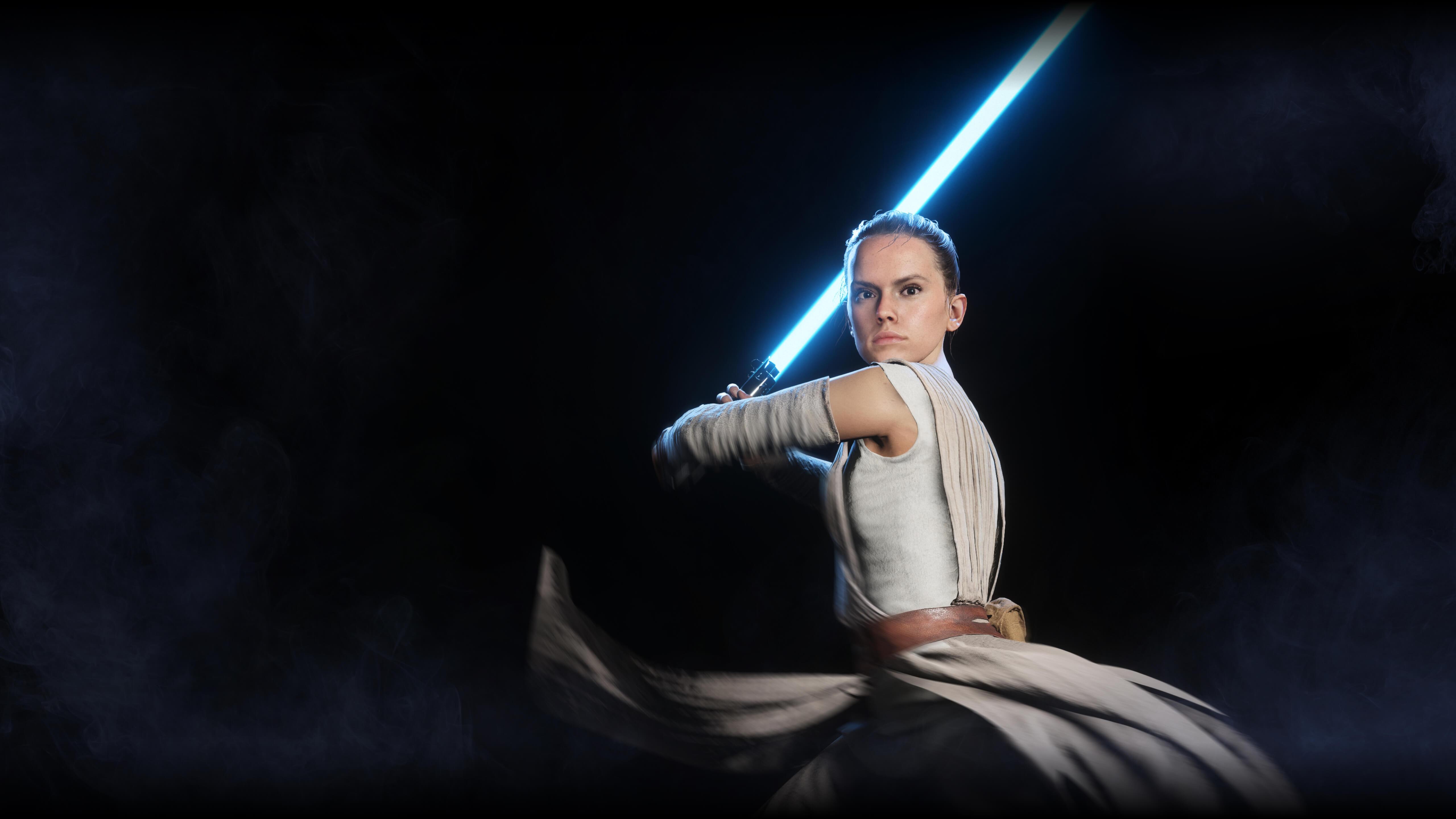 Звездные войны Battlefront II Rey обои скачать