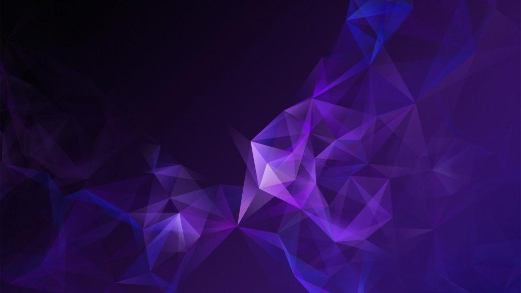Низкий Поли пурпур дыма обои скачать