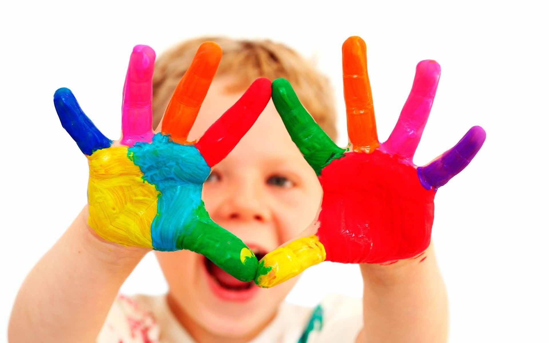 Краска, руки обои скачать