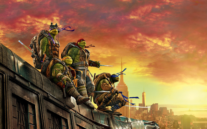 Teenage Mutant Ninja Turtle Out of the Shadows обои скачать