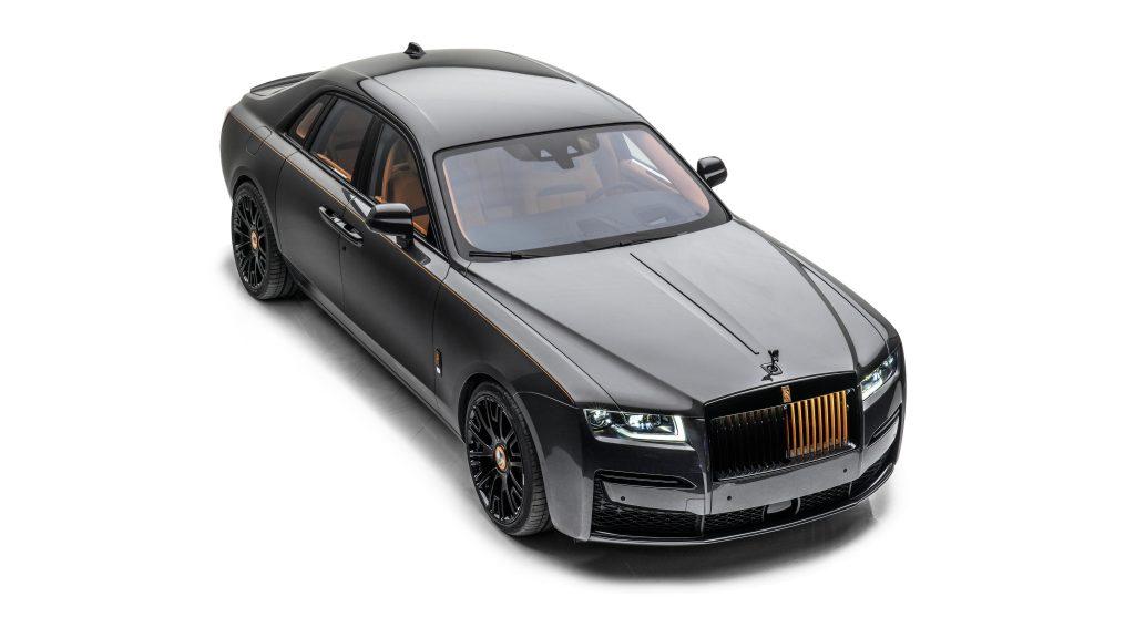 Mansory rolls royce ghost launch edition 2021 автомобили обои скачать