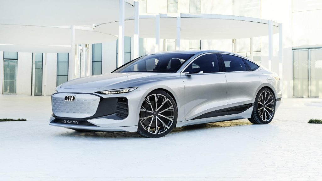 Audi a6 e tron concept 2021 автомобили обои скачать