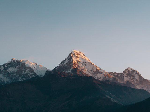 Горы аннапурна дашкиной