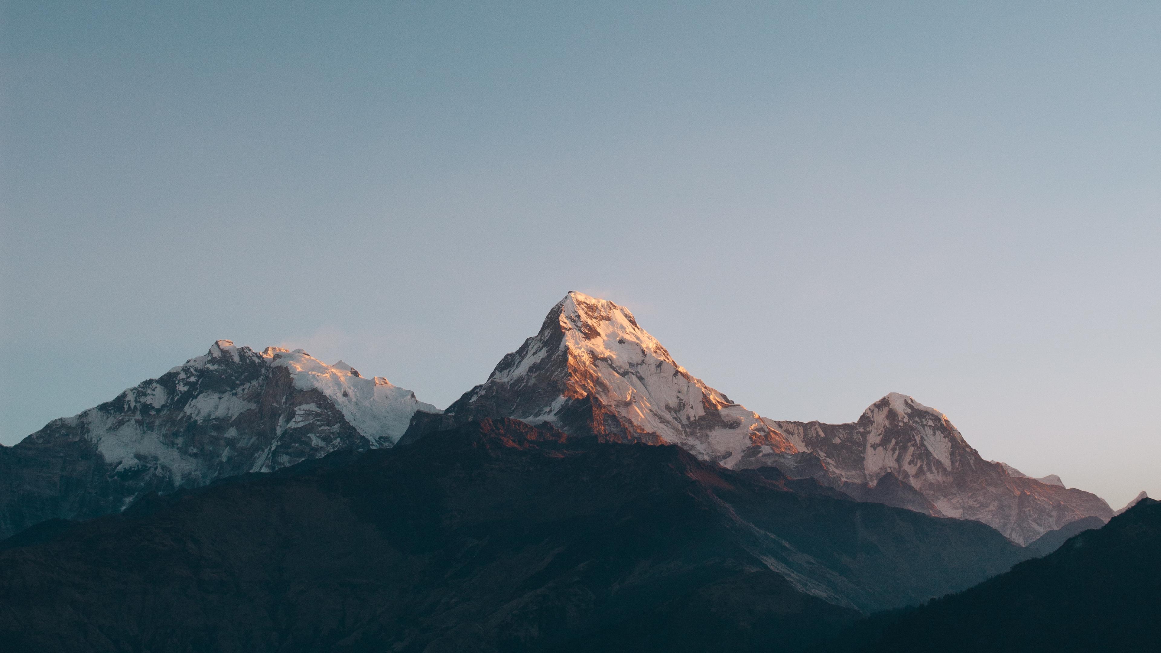 Горы аннапурна дашкиной обои скачать