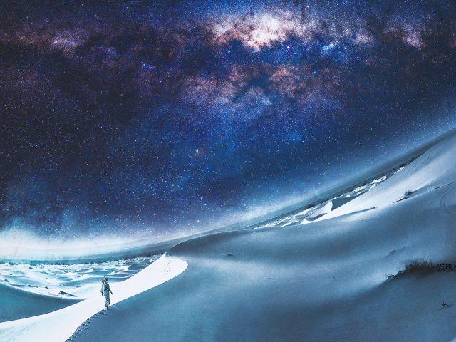Сюрреалистическая пустыня