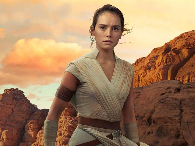 Дейзи Ридли в роли Рей в «Звездных войнах» The rise of skywalker 2019