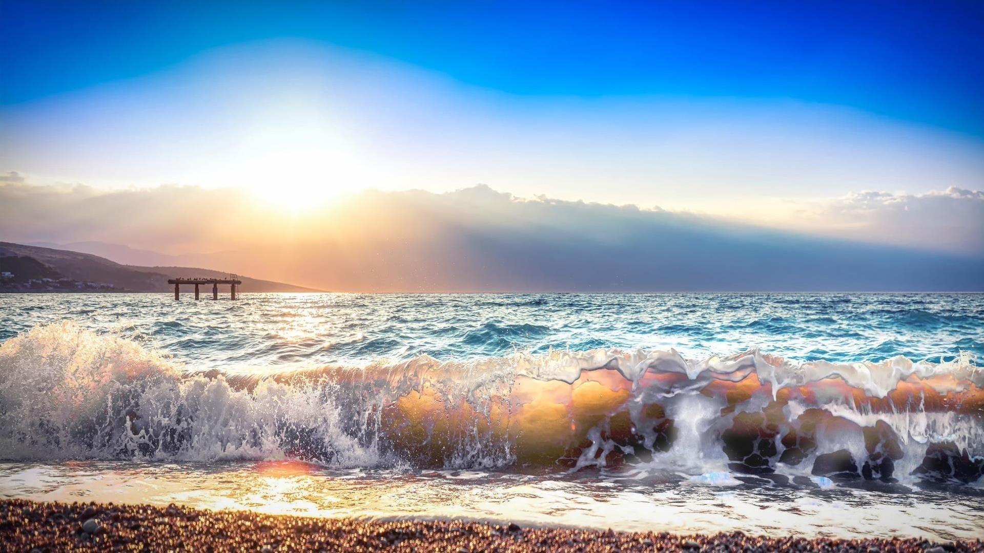 Земной океан обои скачать