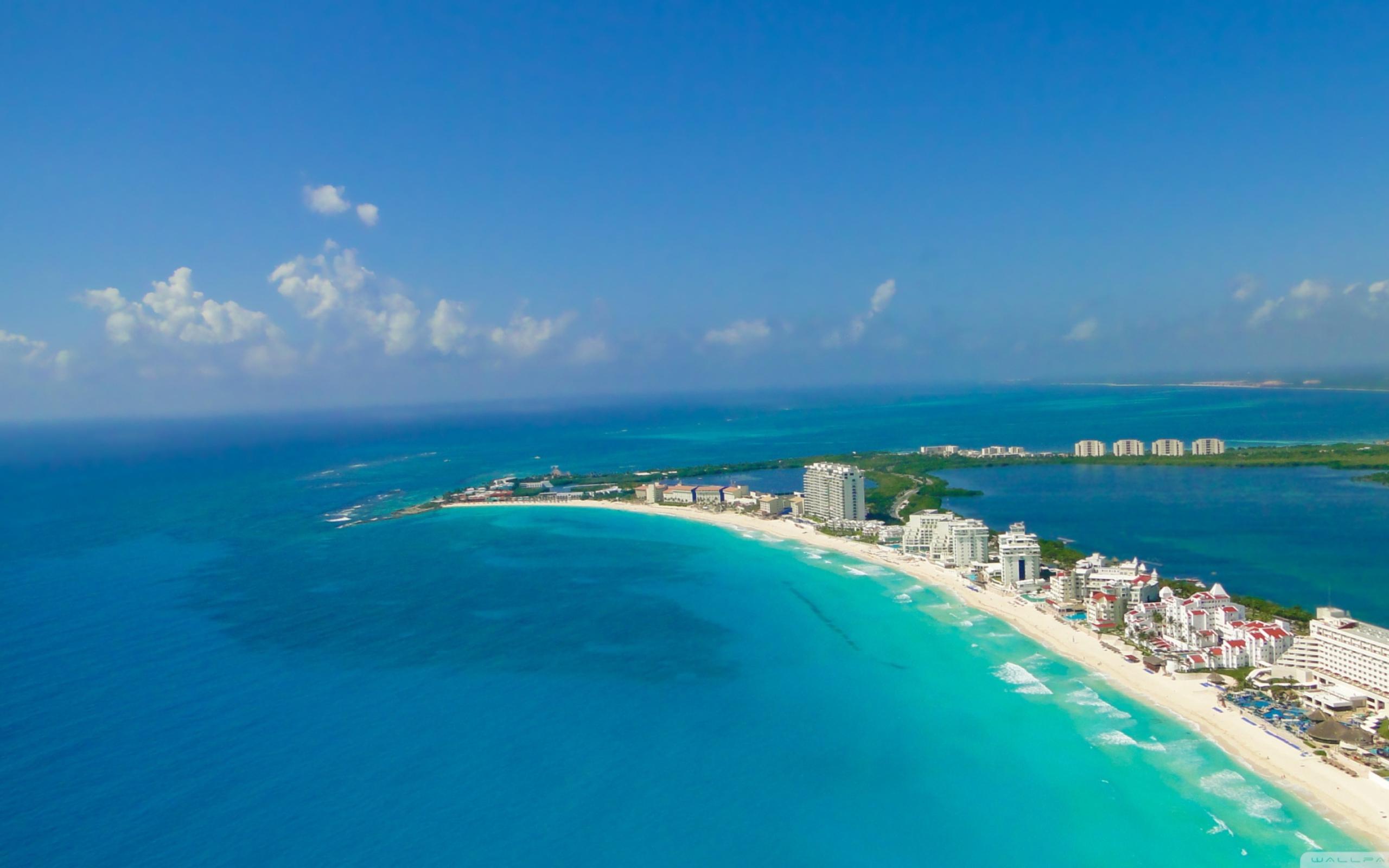 Mexico, cancun, пляж, песок обои скачать