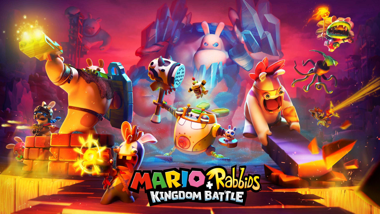 Марио Кролики королевство битва обои скачать
