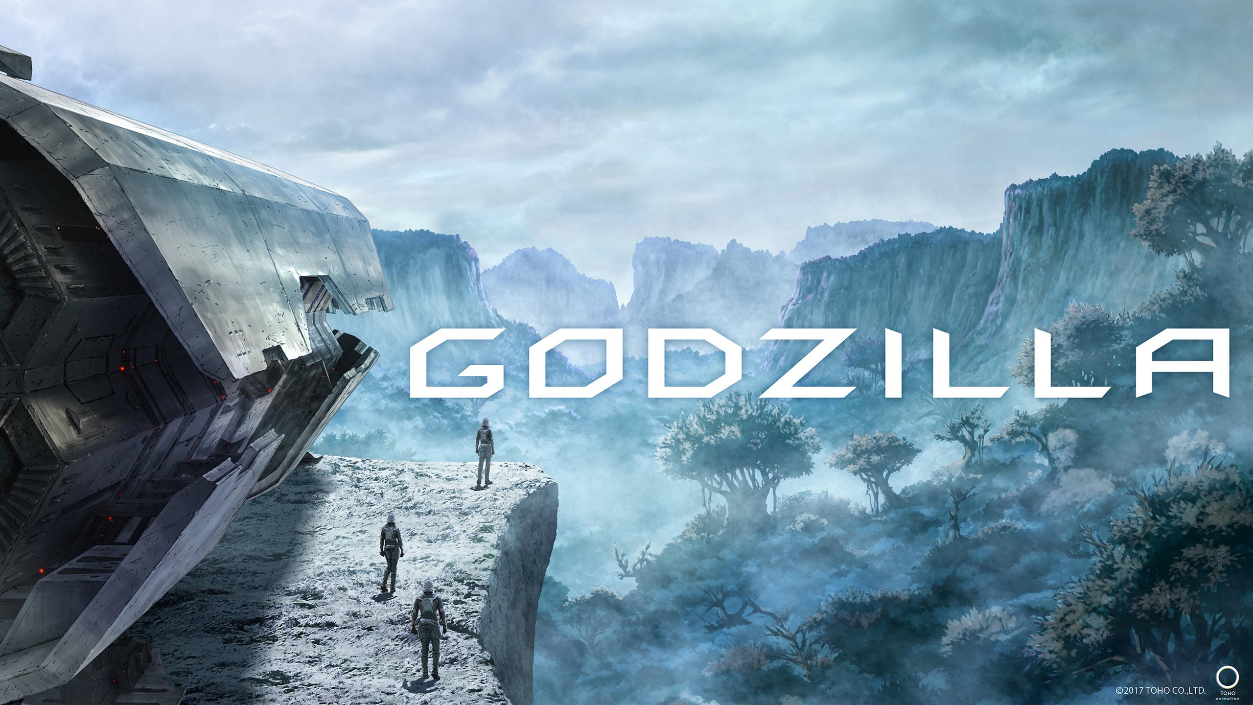 Godzilla Anime обои скачать