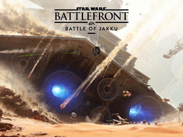 Звездные войны Battlefront Битва за джакку