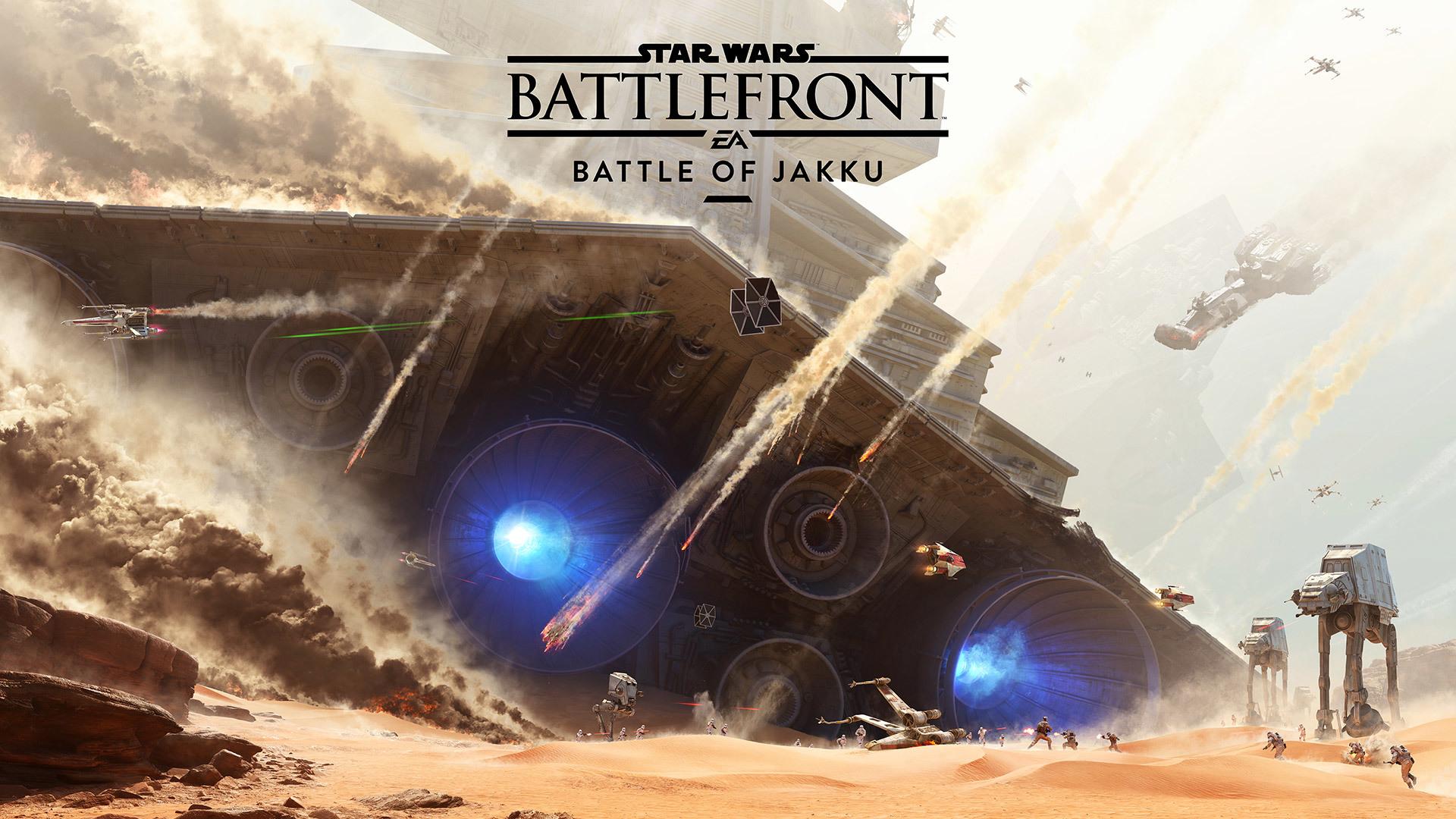 Звездные войны Battlefront Битва за джакку обои скачать