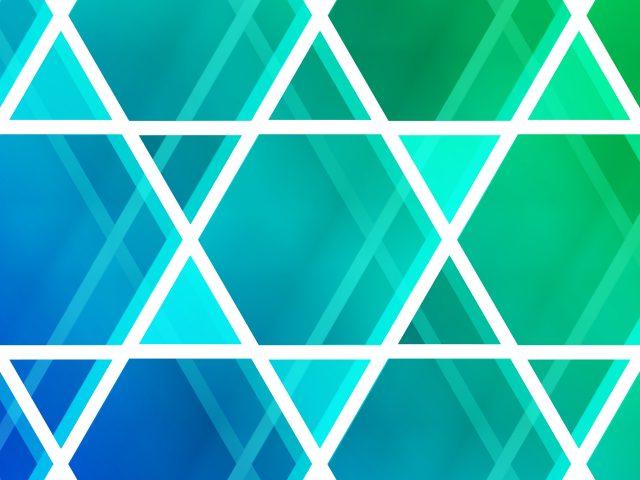 Неоновые треугольники