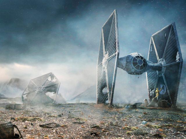 Галстук бойца Звездных войн