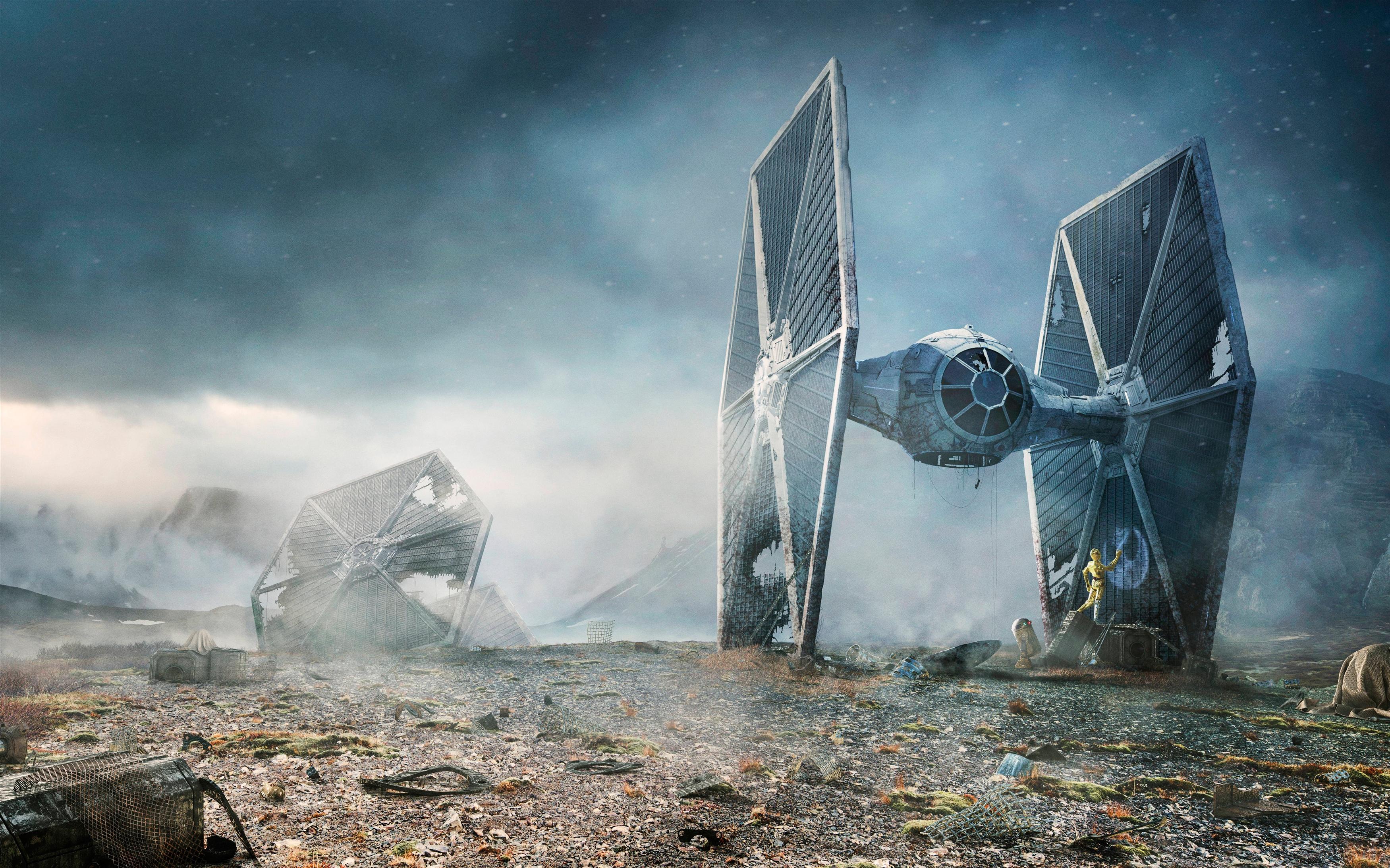Галстук бойца Звездных войн обои скачать
