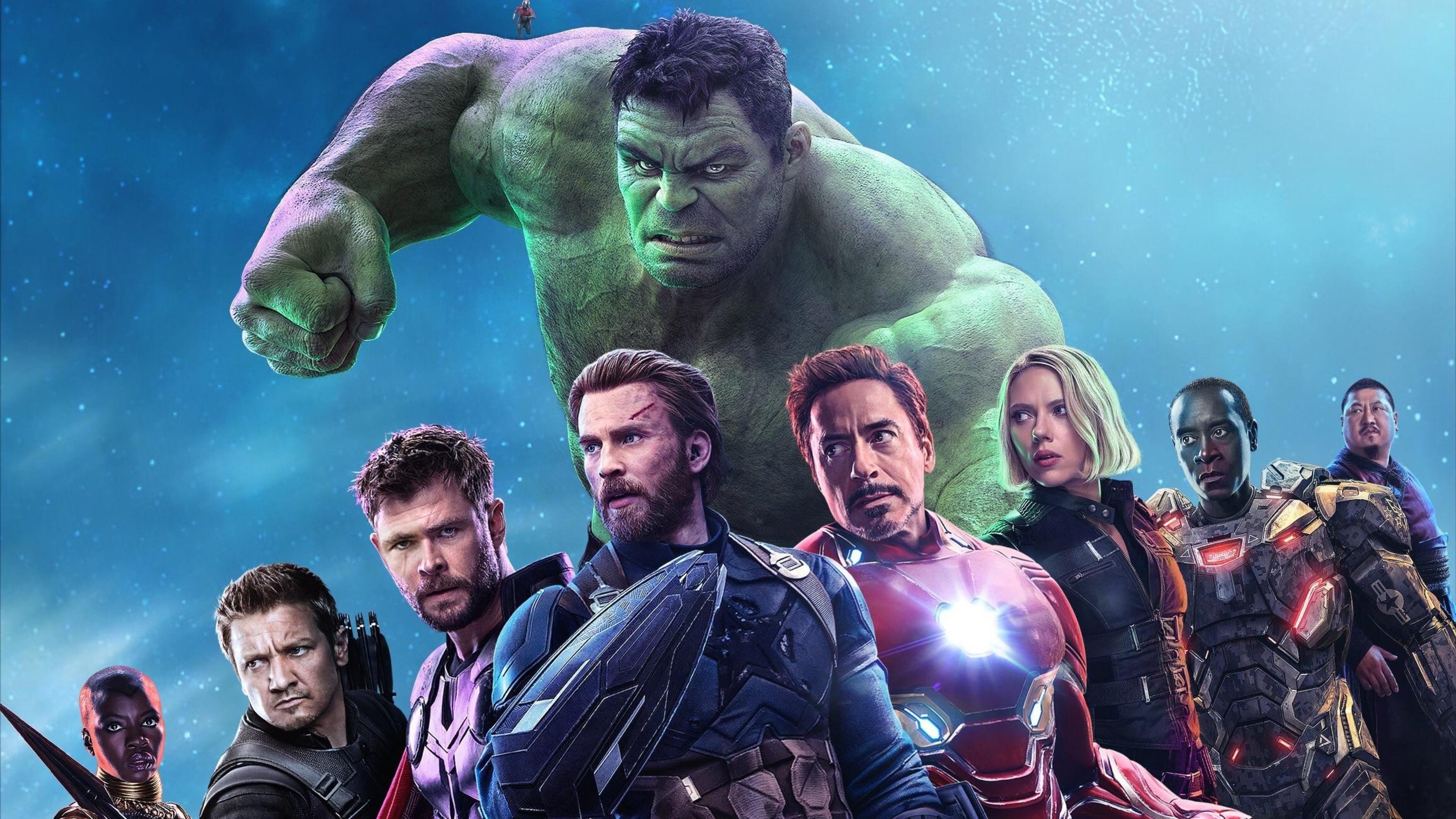 Мстители бесконечность войны супергероев обои скачать