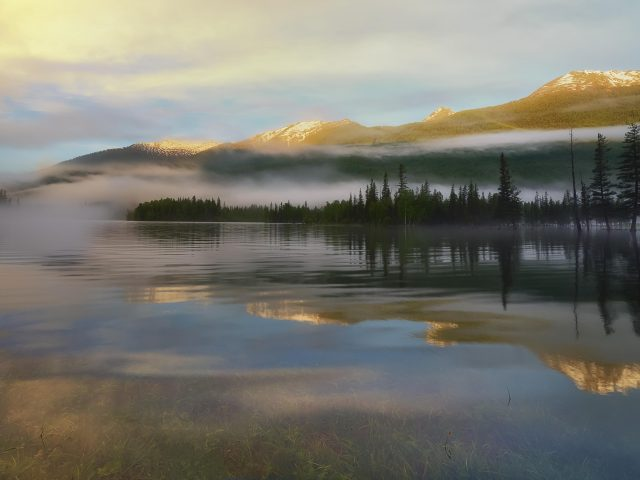 Отражения озера Канас
