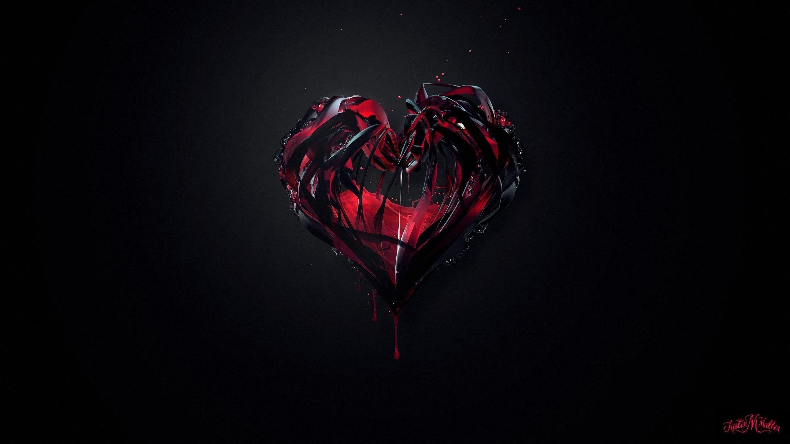 Сердце любви обои скачать