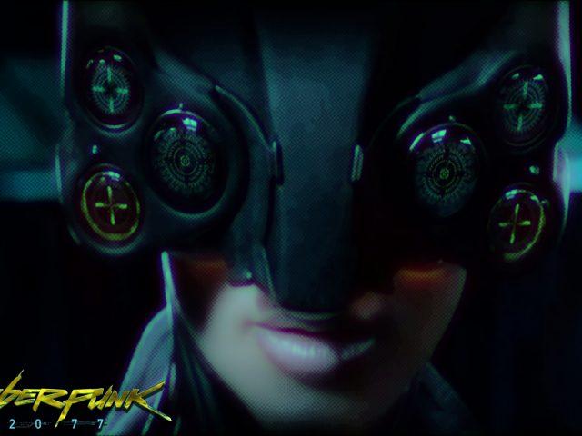 Cyberpunk 2077,  игра,  девушка,  лицо