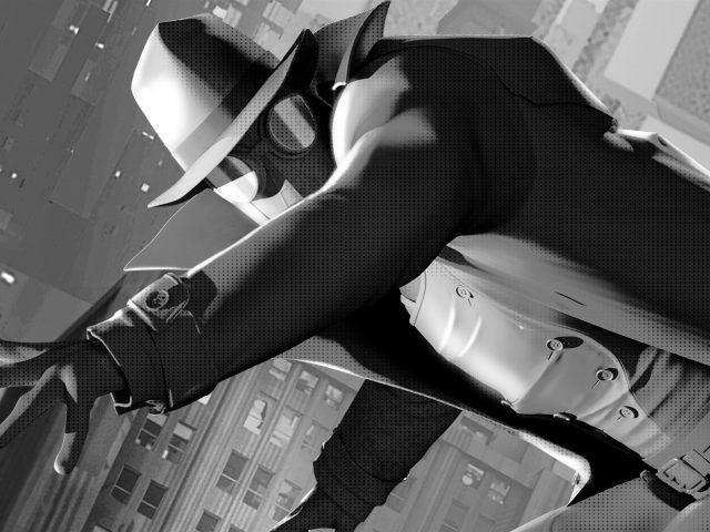 Человек-Паук Нуар в Человек-паук в паук-стих