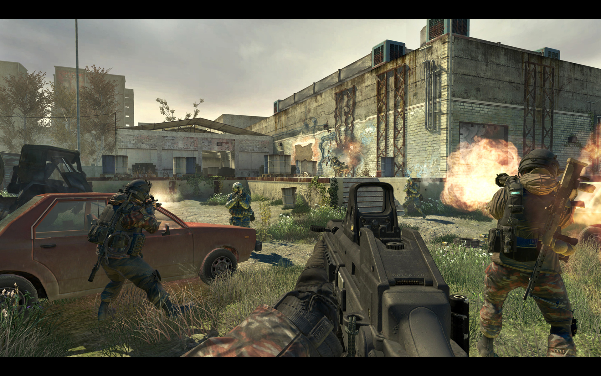 Call of Duty, modern обои скачать