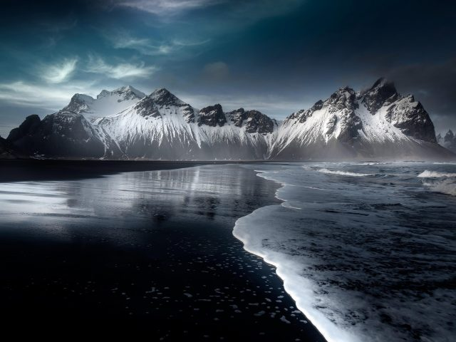 Исландские горы хофн