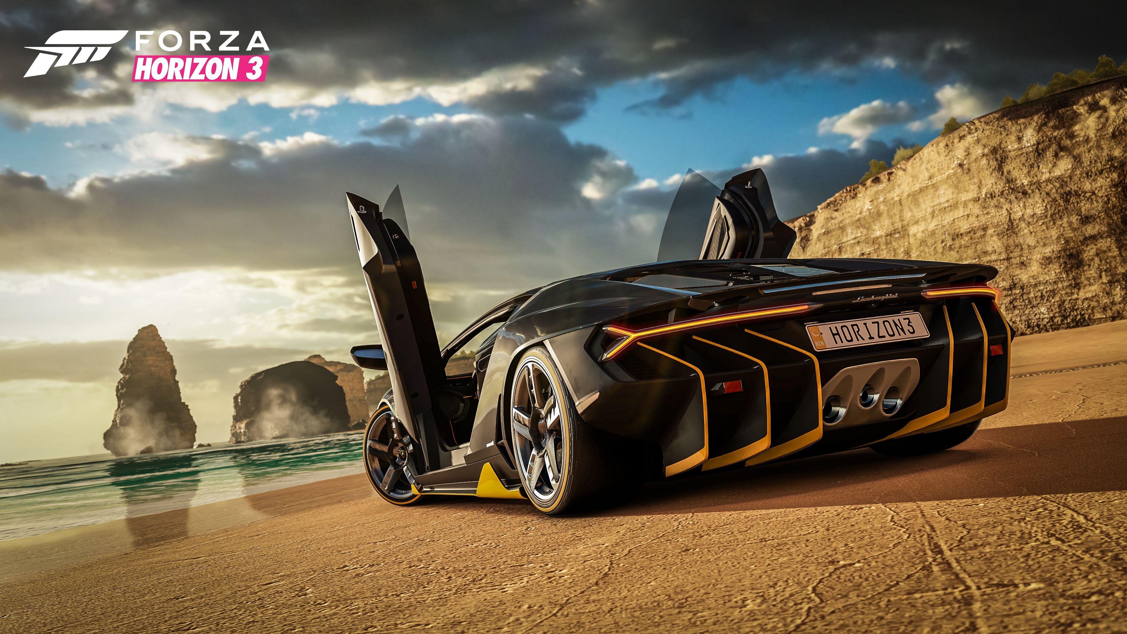 Горизонт Forza 3 обои скачать