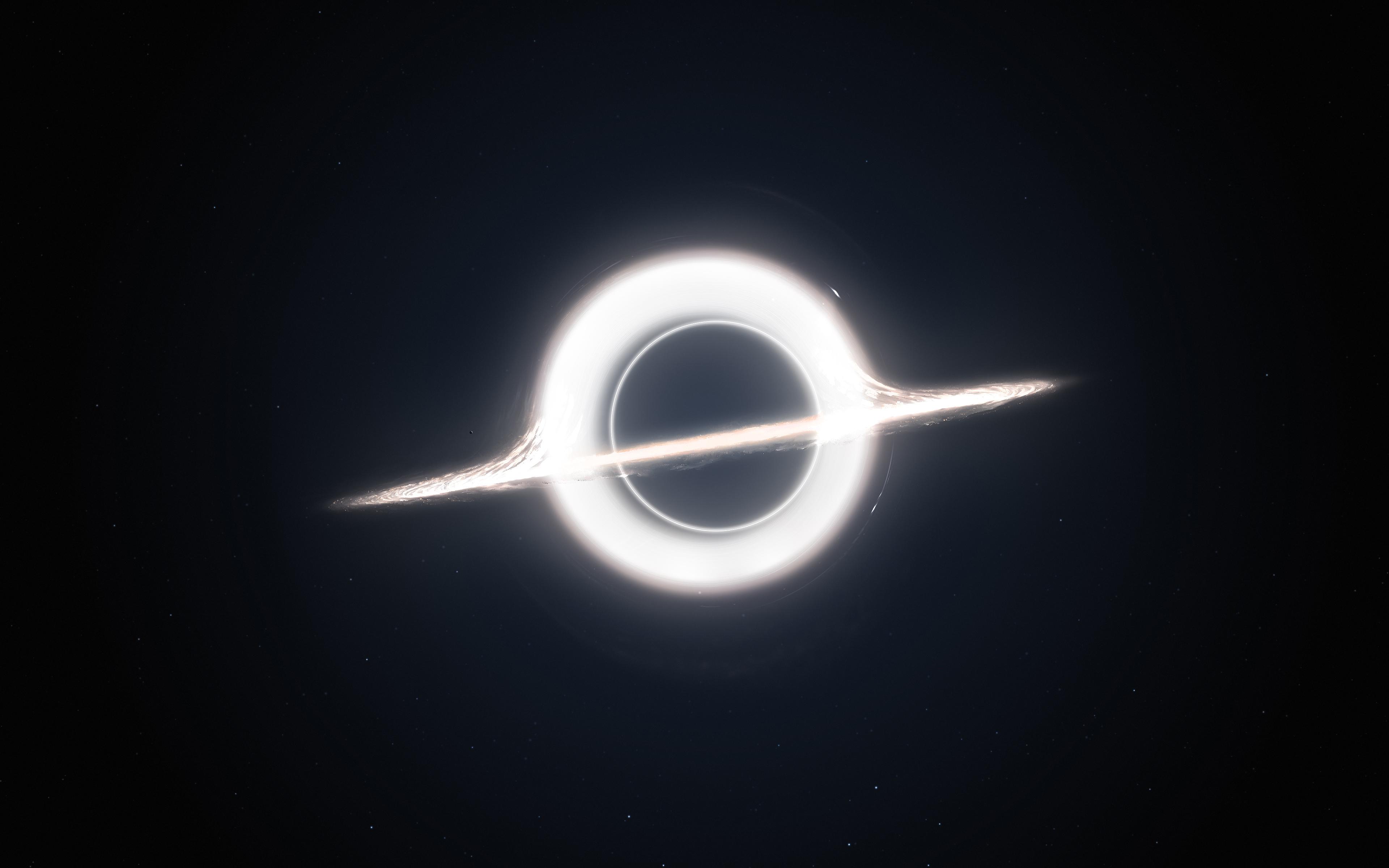 Черной дыры Гаргантюа обои скачать