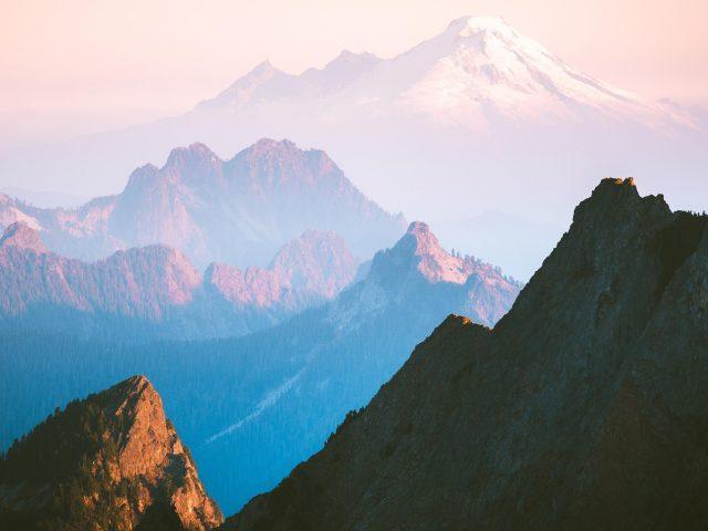 Каскадный хребет горы