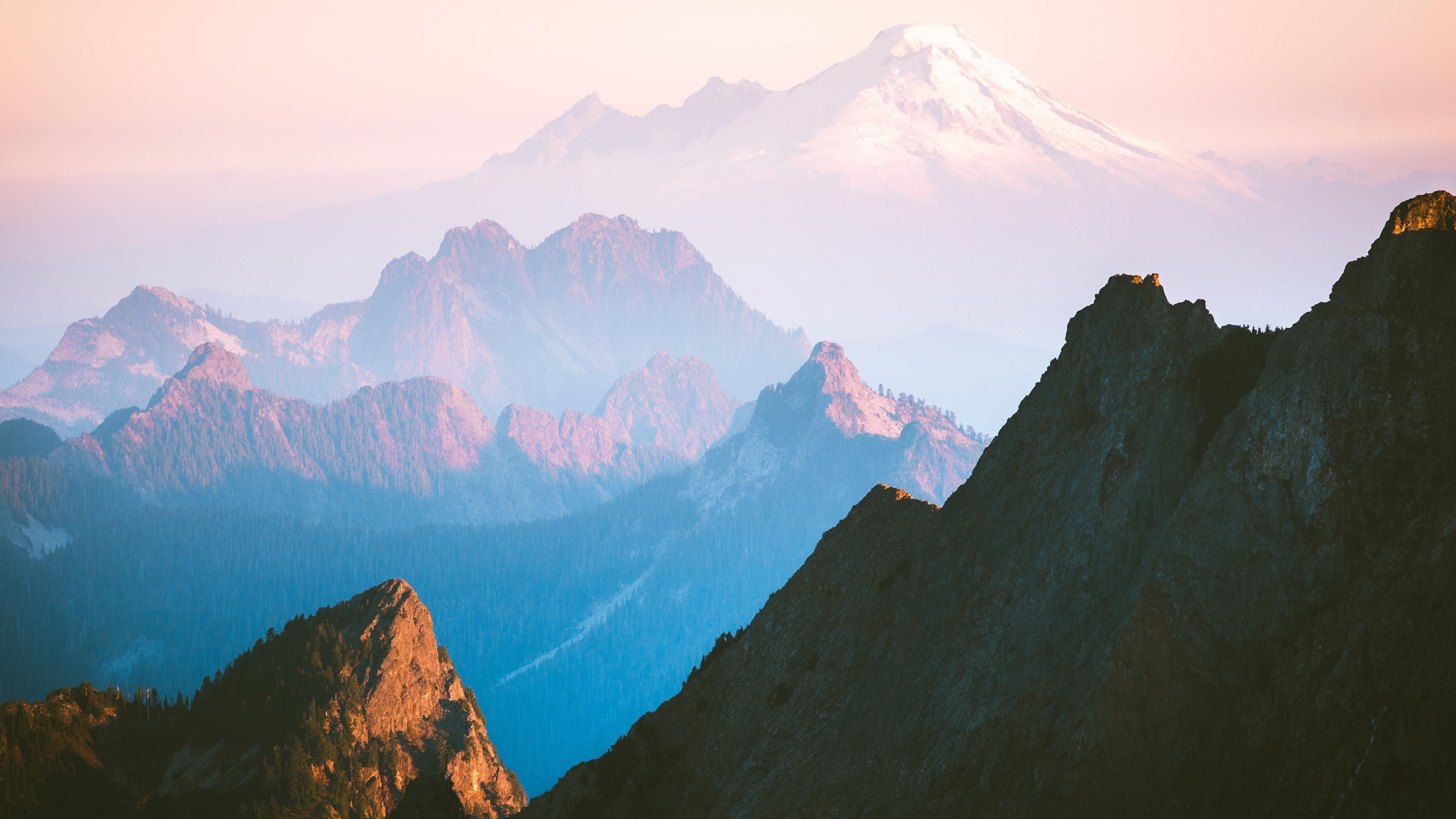 Каскадный хребет горы обои скачать