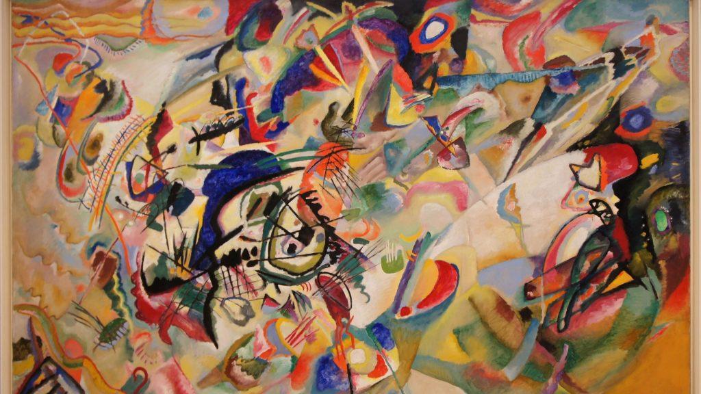 Разноцветная абстрактная живопись art abstract обои скачать